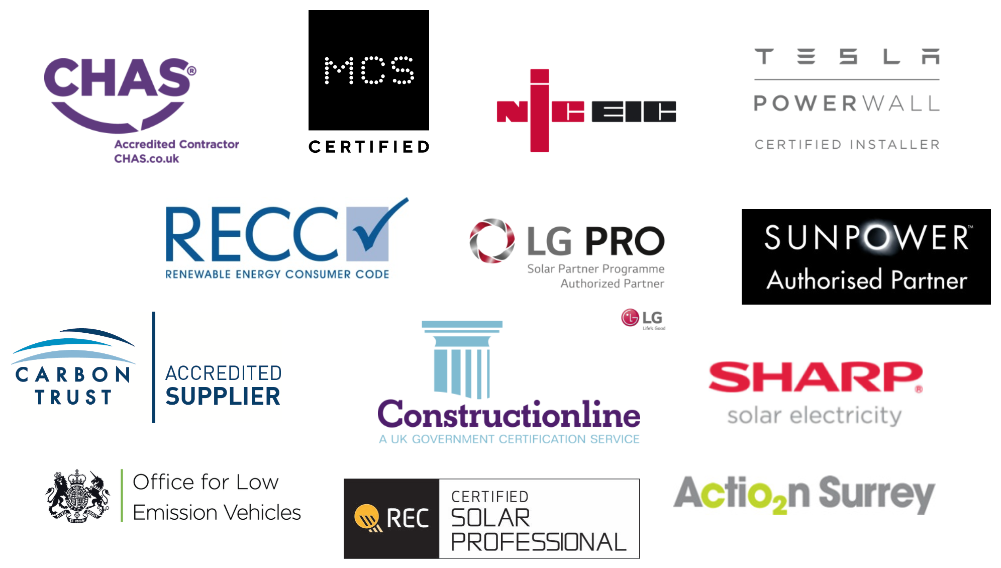 Accreditation logos Aug 20