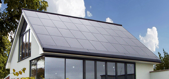 complete solar roof