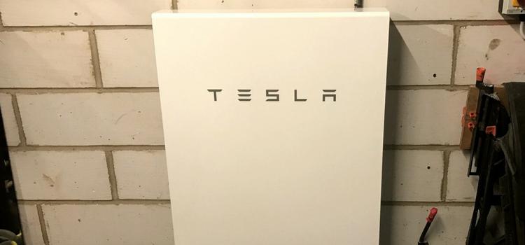 Tesla Powerwall battery storage for solar