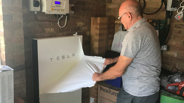 Residential solar storage: Tesla Powerwall