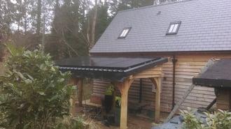 solar panel carport roof