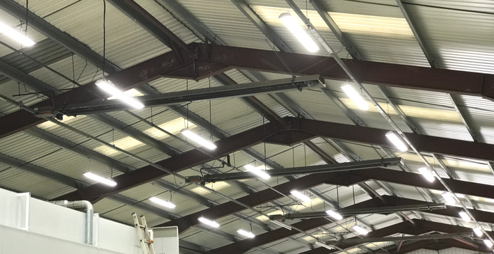 Retrofit LED Lighting Warehouse