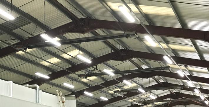 Retrofit LED Lighting Warehouse