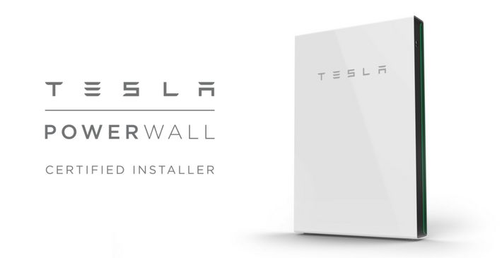 Tesla Powerwall 2 solar PV battery storage