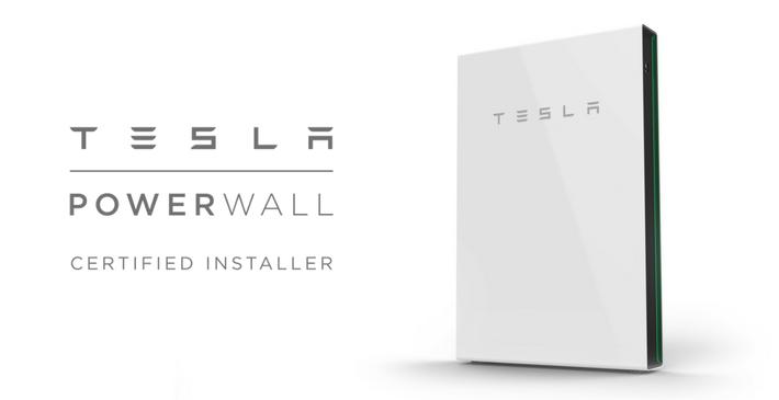 Tesla Powerwall 2 solar PV battery storage