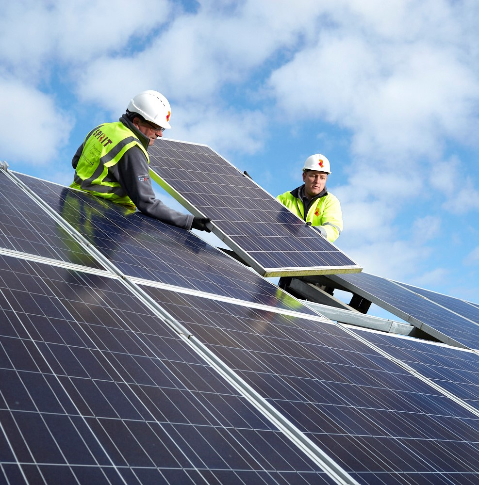 why commercial solar panels