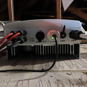 Inverter integrated DC iso