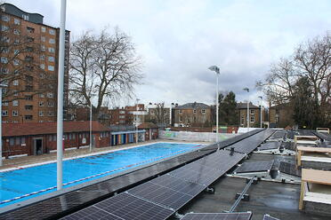 London Fields Lido - 34 kWp (March '21)