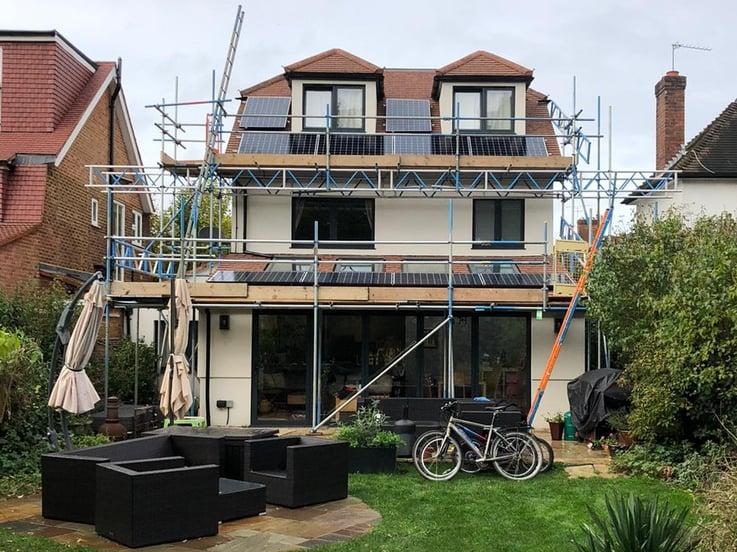 London domestic solar