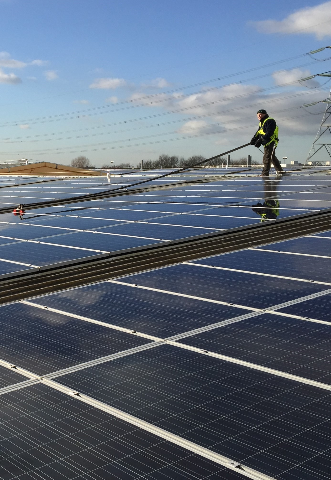 Solar PV cleaning