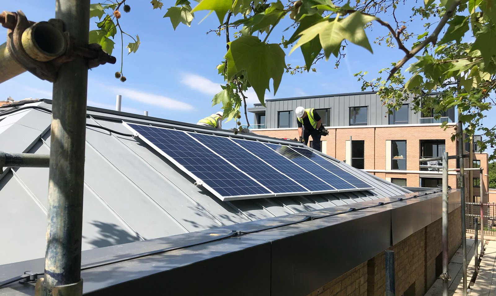 Solar panel building regs