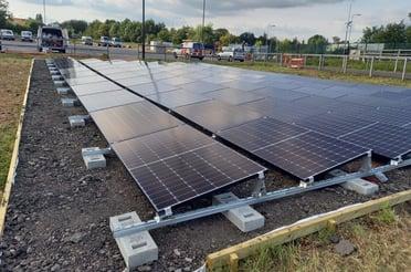 Van der Valk Ground Mounted Solar Panels: A Cost Efficient Alternative
