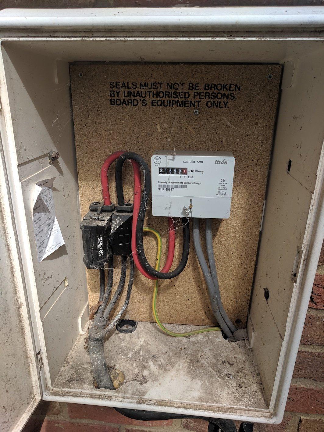 electricity meter