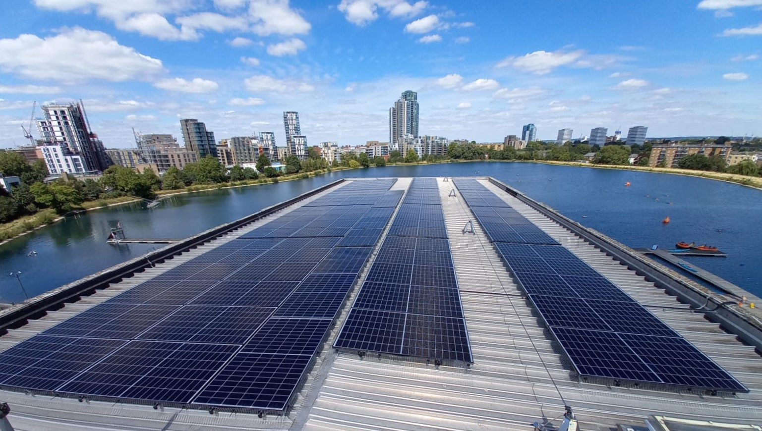 Spirit Installs Solar Panels at West Reservoir Centre